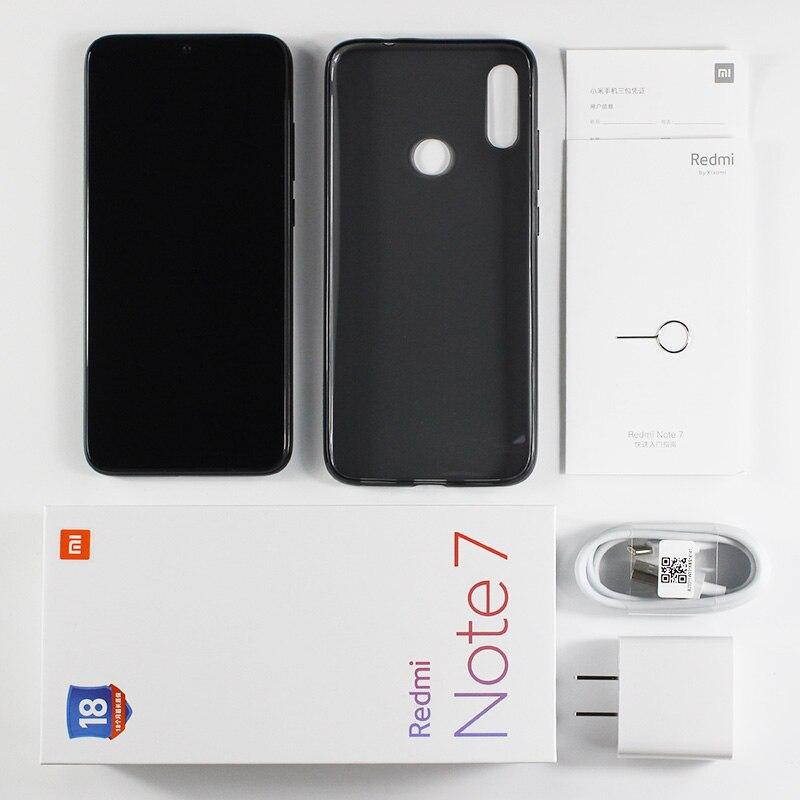 На складе, Смартфон Xiaomi Redmi Note 7 с глобальной прошивкой, 6 ГБ ОЗУ, 64 Гб ПЗУ, Snapdragon 660, экран 6,3 дюйма, задняя камера 48 МП, аккумулятор 4000 мАч