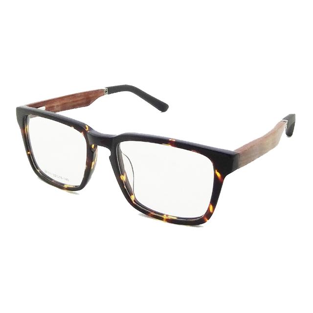 Natureza Madeira sagawa fujii óculos de prescrição óculos de armação armações de óculos homens mulheres Óculos de aro Full frame Ótico ZF111