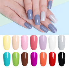 LILYCUTE Gainsboro UV Gel Nail Polish Soak Off Long Lasting Grey Nail Art Gel Varnish Manicure Pedicure Salon Supplies