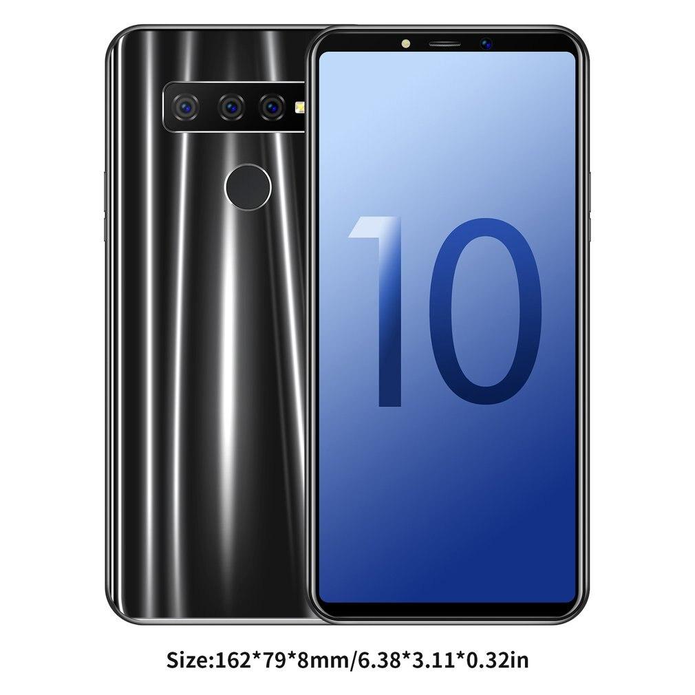 S10 Mobile Phone 6.1 Inch 3G Smartphone 1+16Gb Quad Core Triple Camera Smartphone Waterproof Dustproof Android Dual Sim