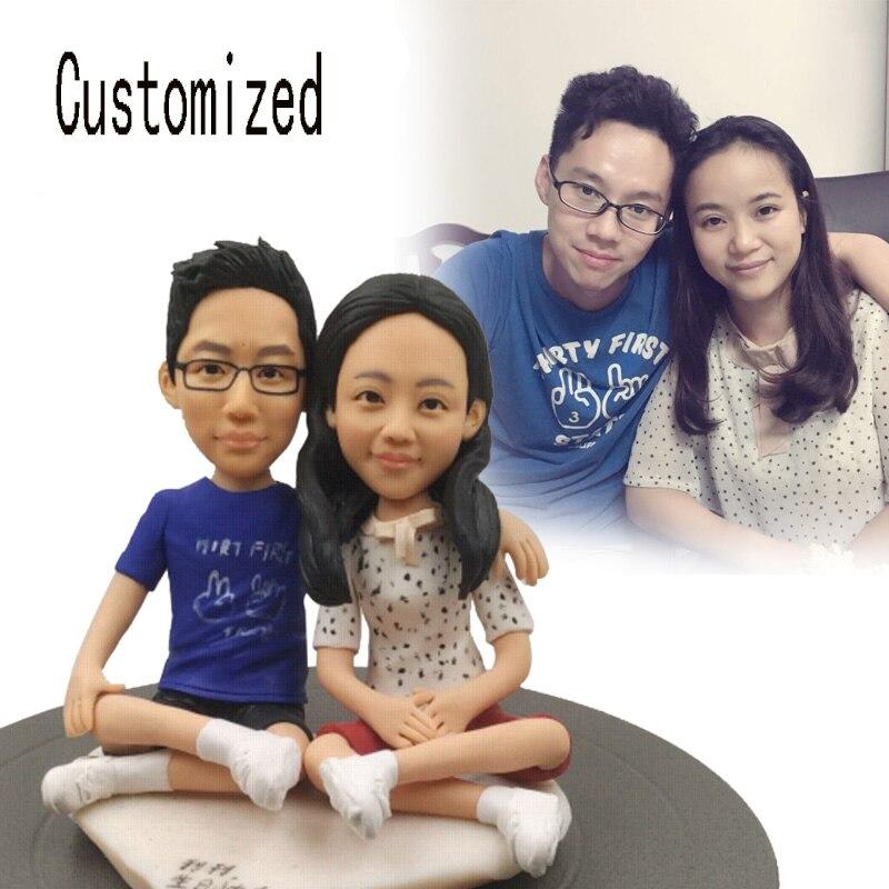 Poupées hommes réels personnalisés privés poupée personnalisée selon les Photos le meilleur cadeau pour les enfants ou les amis artisanat traditionnel chinois