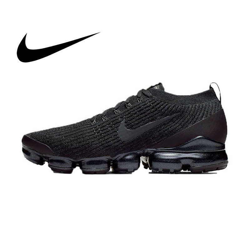 Original authentique Nike AIR VAPORMAX FLYKNIT 3 chaussures de course pour hommes classique chaussures de sport de plein AIR respirant confort AJ6900-004