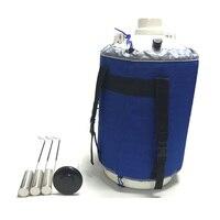 Контейнер для жидкого азота от 2L до 35L изготовлен из авиационного алюминия