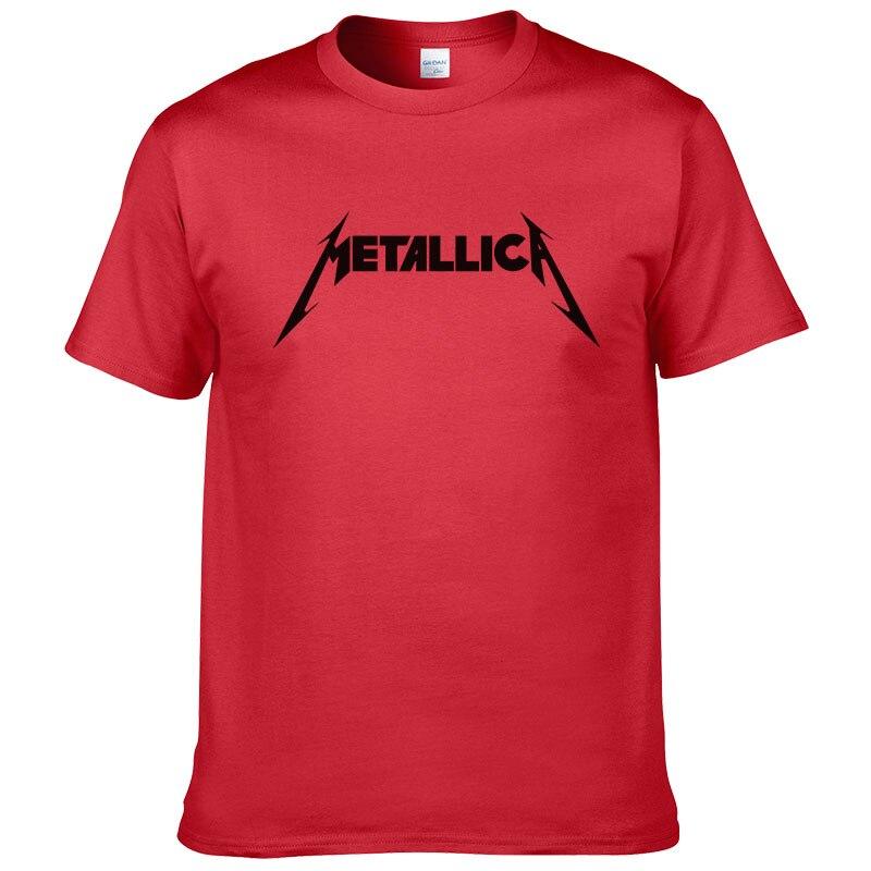 Metallica hard metal rock band men 39 s t shirt t shirt for for Band t shirts for men
