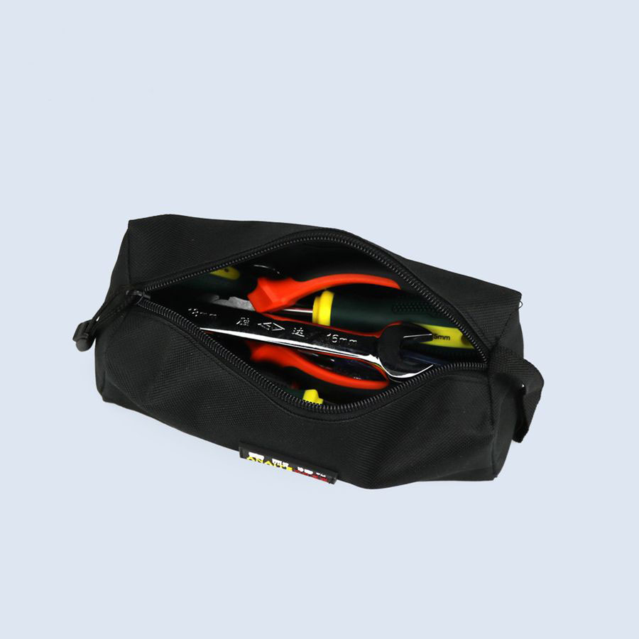 Black Work Hand Bag Hardware Tool Bag Electronic Accessory Package Utility Bag With Carrying Handles Sack