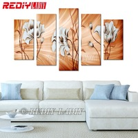 REDIY LADIY Diamond Painting Cross Stitch Golden Poppies Multi Picture Diamond Embroidery Triptych Rhinestones Modular Picture