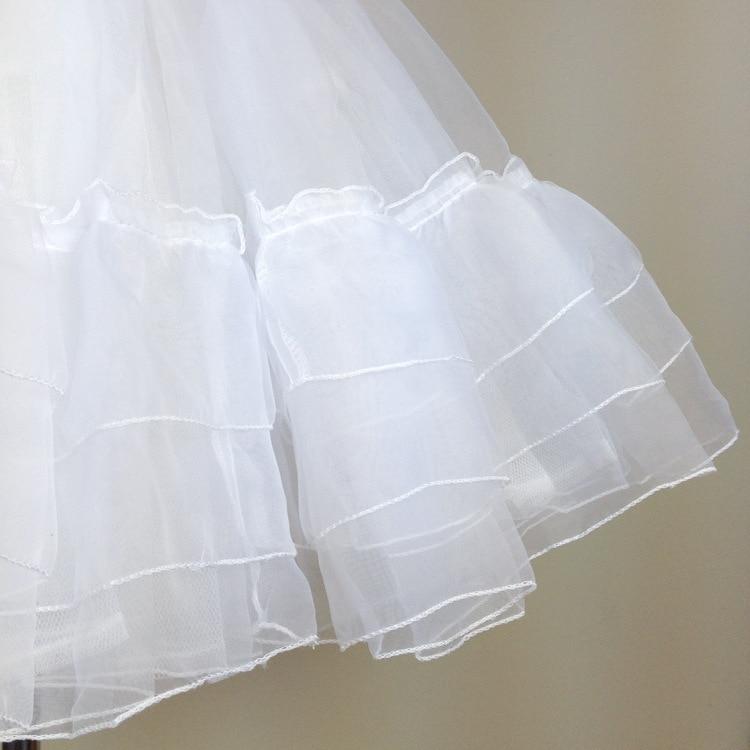 Ženska kratka suknja za haljinu Lolita Bijela / crna slojevita - Ženska odjeća - Foto 5