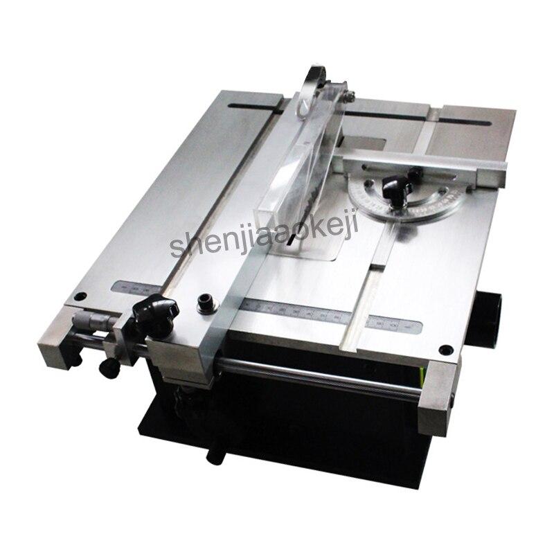 Scie à Table Micro petite scie à Table scie circulaire Mini précision scie à Table machines à bois 220v240w 1 pc