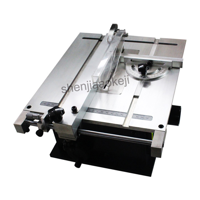 Table Saw Micro Small Table Sawing machine Circular Saw Mini Precision Table Saw Woodworking machinery 220v240w 1pc metal saw machinery portable sawing machine low noise small metalworking sawing machine with english manual