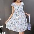2016 new summer maternity dresses loose women's dresses pregnant dresses maternity summer dress clothing 16299