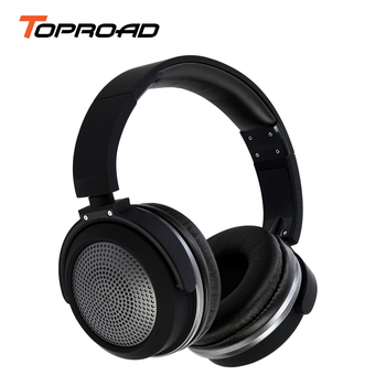 TOPROAD Wireless Bluetooth Headphone Stereo Headset Headphones with MIC audifonos fone de ouvido Big Earphones Rotating Ear Cup gadget