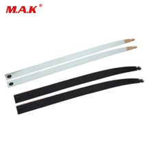 1 pair Black/White Bow Limbs 14-40 LBS DIY KAIMEILONG Recurve Bow Accessory for Archery Hunting Shooting