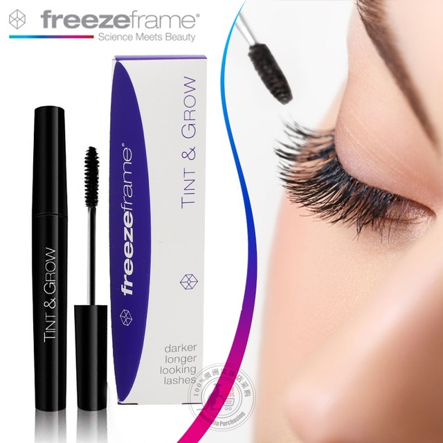 Freezeframe Tint &Grow Lash Enhancers Last Longer Darker Thicker Lashes naturally Eyelash Growth Treatments Lash increase Makeup