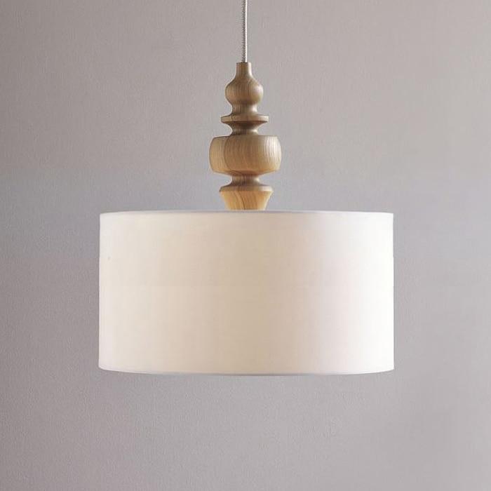 Nordic ikea rotondo in legno lampadari moderni camera da for Lampadario camera da letto ikea