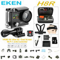 "EKEN H8R Action camera VR360 Remote Controller ultra 4K / 30fps WiFi 2.0"" Dual LCD pro Helmet Cam go waterproof sport Camera"