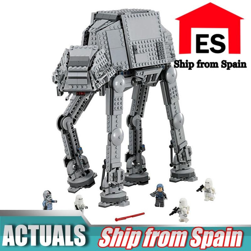 Oyuncaklar ve Hobi Ürünleri'ten Bloklar'de Yıldız Savaşları Serisi 05051 Kuvvet Ulaşmak AT AT Ulaşım Zırhlı Robot Yapı Taşları ile Uyumlu 75054 oyuncaklar'da  Grup 1