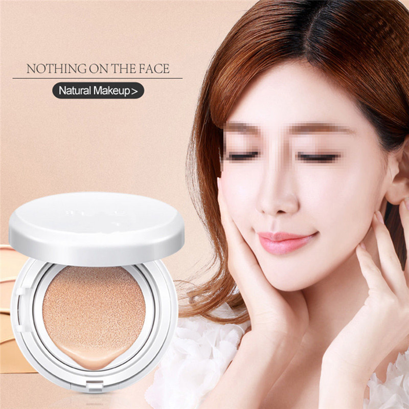 SKONHED Sunscreen Concealer Moisturizing Foundation Makeup Bare Air Cushion Lady Women BB Cream