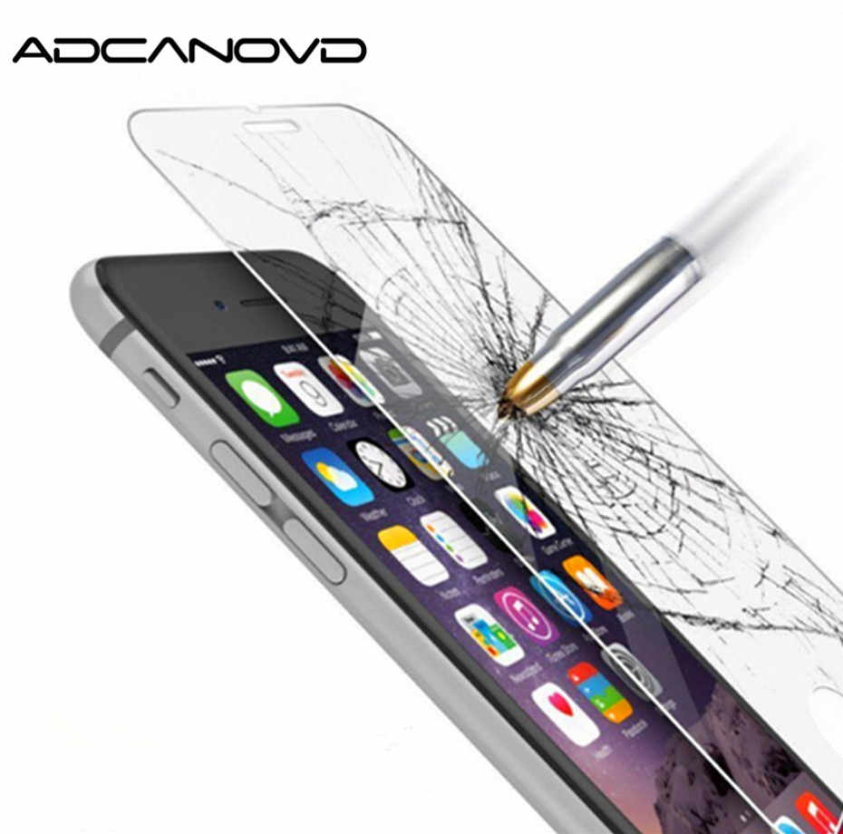 High Quality for iphone 6 6s 7 8 plus Screen Protector for iPhone X Tempered Glass iPhone 5 5s SE 4 4s Protective Film
