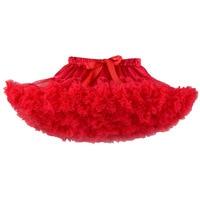 3 Layers Tulle Toddler Girls Lace Pettiskirt Baby Girl Ballet Dance Tutu Skirt Children Fluffy Chiffon