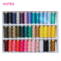 Hot High Quality 39 Colors 402 Fine Durable Hand Sewing Thread Sewing Machine Parts Accessories Polyester