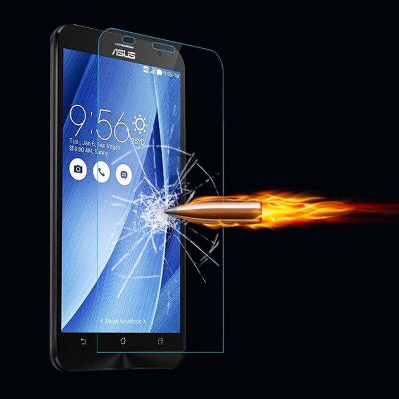 BCR Store 0.26mm 9H Screen Protector Tempered Glass Film For Asus Zenfone 2 ZE551ML ZE550KL ZE550KL Laser C 4.5 4 5 6 Selfie GO A400CG