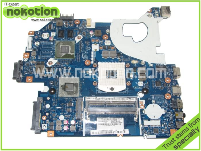 MBBYL02001 LA-6901P LAPTOP MOTHERBOARD for acer aspire 5750 HM65 DDR3 Mainboard laptop motherboard for aspire one 522 ao522 p0ve6 la 7072p mbsfh02001 amd c60 ddr3