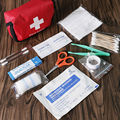 11pcs Family First Aid Kit Set Emergency Bag Case Travel Camping Medical Survival Kit Home Medical Bag Outdoor Car First Aid
