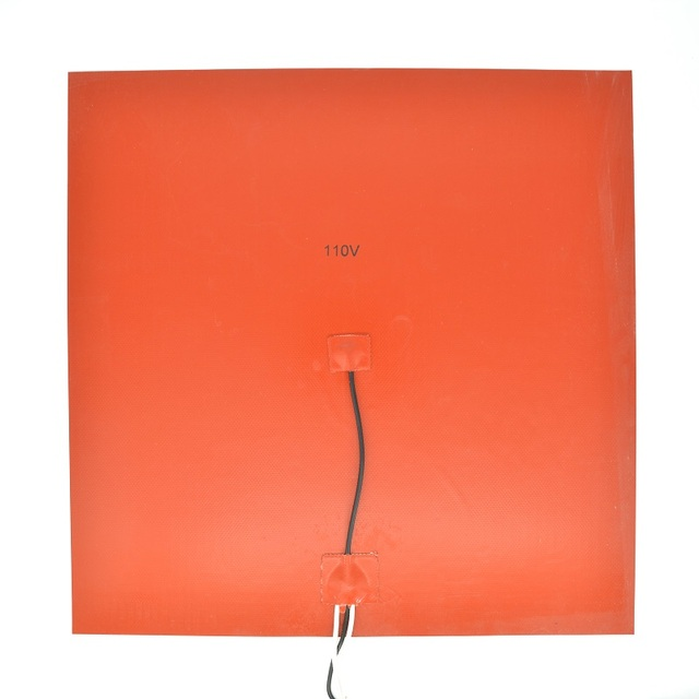 400mm 110V AC flexible silicone  Square heater pad