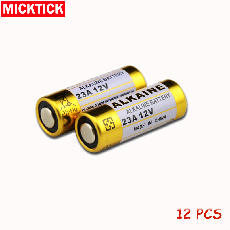New 12pcs/Lot 23A12V Battery Small Battery 23A <font><b>12V</b></font> 21/23 <font><b>A23</b></font> E23A MN21 MS21 V23GA L1028 Alkaline Dry Battery image