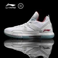 Li-Ning mannen Wade 5 'Grey Camo' Professionele Basketbal Schoenen Kussen VOERING Ademend Sneakers Stabiliteit Sportschoenen ABAM057