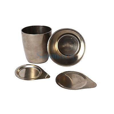 30ml 50ml Thinkness1mm Laboratory Nickel Crucible With Lid Cover Thermostability30ml 50ml Thinkness1mm Laboratory Nickel Crucible With Lid Cover Thermostability