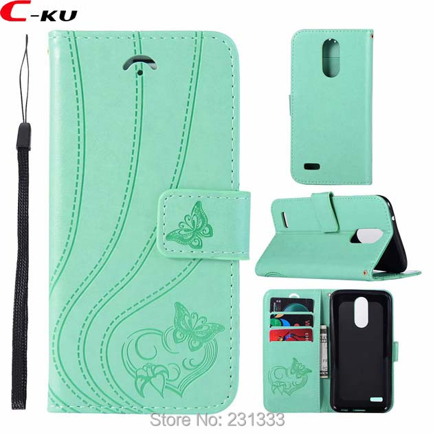 C-ku Strap Butterfly Wallet Leather Pouch Case For Sony Xperia XA2 XA1 XZ1 MINI XZ2 Compact Stand ID Card Cover Skin Luxury 1pcs