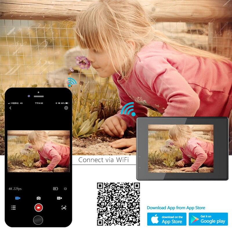 100% Original SJCAM SJ4000 AIR Action caméra Full HD Allwinner 4K 30FPS WIFI 2.0