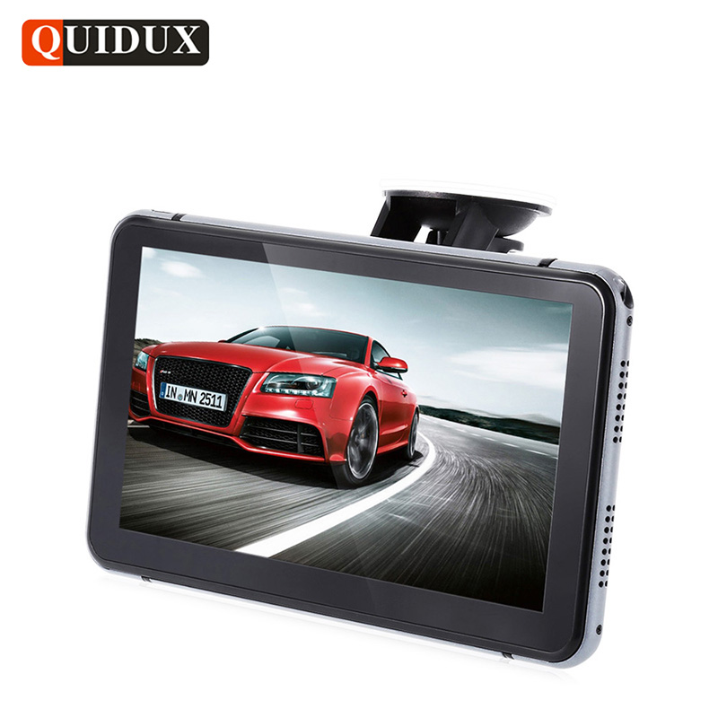 QUIDUX FULL HD 1080P Car DVR GPS Navigation 7 inch Android ROM 8G Free Upgrade Map Car Video Camera Recorder BlackBox gps навигатор lexand sa5 hd