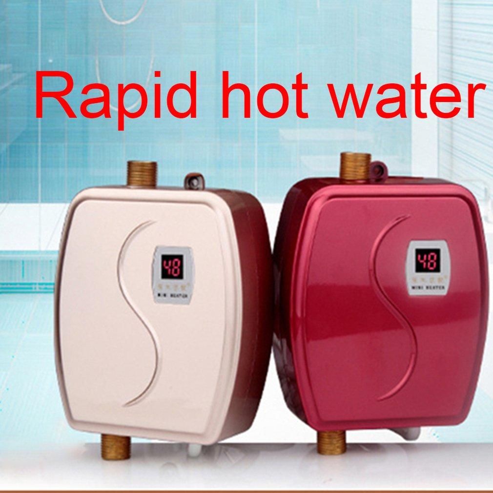 chuveiro para casa banheiro termostato fluxo aquecedor