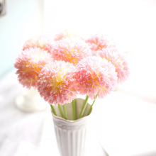 1pcs / lot of colorful decorative flower wedding party luxury artificial giant giant allium DIY flower home New Year decorations