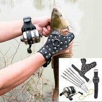 Hoge kwaliteit krachtige vissen set DIY professionele pijl jacht slingshot catapult outdoor hunting