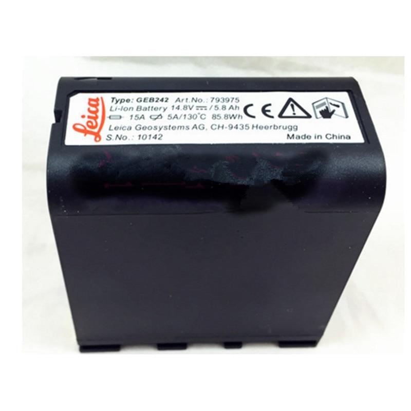 все цены на 100% brand new GEB242 1/GEB241 14.8V 5800mAh Li-ion battery For TS30 and TM30 total station