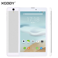 Free Shipping XGODY KT971 3G Unlock 8 Inch Tablet PC Android 4 4 MTK MT6582 Quad