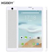 Envío Libre XGODY KT971 3G Unlock 8 Pulgadas Tablet PC Android 4.4 MTK MT6582 Quad Core 2G RAM 16G ROM Teléfono Tableta de la Llamada de 2600 mAh