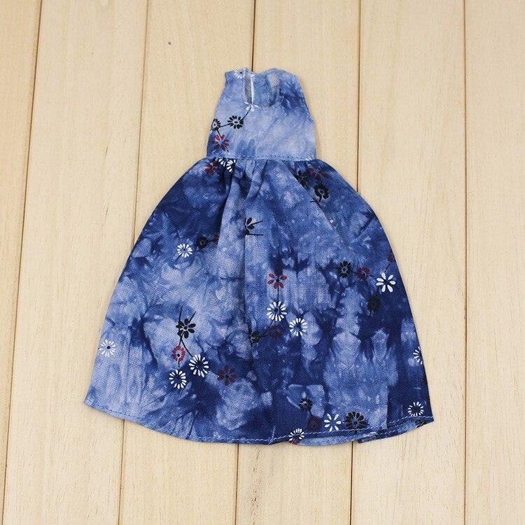 Neo Blythe Doll Retro Spring Flowers Dress 8