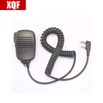 XQF 10 PCS BAOFENG Speaker Microphone for BAOFENG Ham Two Way Radio/ Walkie Talkie UV5R GT3 888S8s