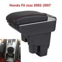 Arm Rest Rotatable For Honda Fit Jazz 2002 2007 Hatchback Center Centre Console Storage Box Armrest 2003 2004 2005 2006 2007
