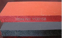 Good Quality Silicone Foam Mat Size 500X500X10m Closed Cell Foam Silicon Rubber Sheet RED COLOR
