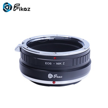лучшая цена Fikaz For EOS-Nikon Z Camera Lens Mount Adapter Ring for Canon EOS EF EFS EF-S Mount Lens to Nikon Z6 Z7 Z-Mount
