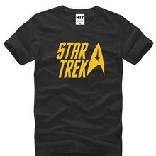 Movie Star Trek Printed T Shirts Men Summer Style Short Sleeve O-Neck Cotton Men's T-Shirt Cool Movie Fans Tshirt Mens Clothing