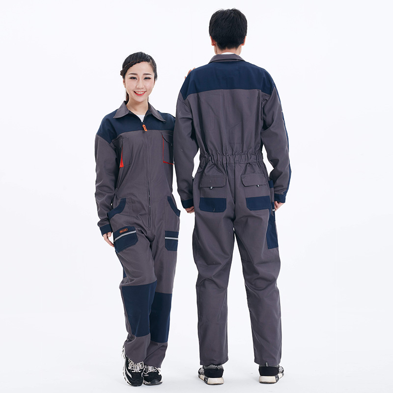 Men Work Clothing Long Sleeve Coveralls Large size Dust-proof Anti-pollution clothing Painting Auto Repair suits Overalls M-4XL new men s work clothing reflective strip coveralls working overalls windproof road safety uniform workwear maritime clothing