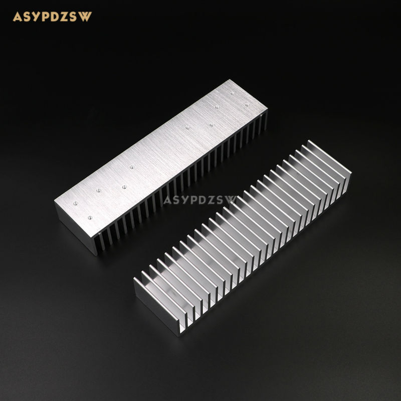 200*50*30 dissipador de calor de alumínio completo adequado para o amplificador de potência l6 L12-2 mx50