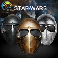 Star Wars Jedi Warrior Movie Theme Mask Mask Dance Props Wedding Party Decoration High Grade Resin
