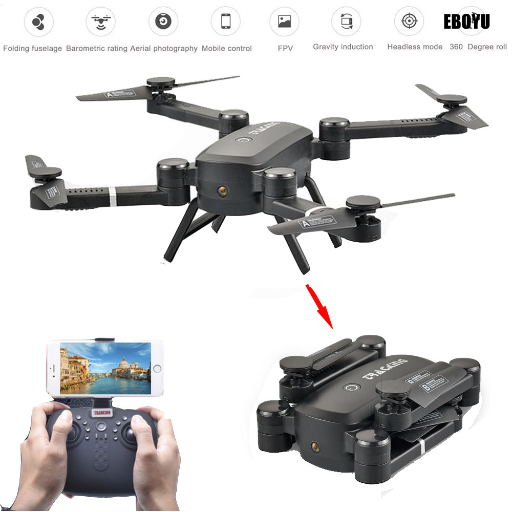 EBOYU QS005 Sky Hunter Foldable Rc Selfie Drone with Wifi FPV 2.0MP HD Camera Altitude Hold Headless Mode RC Quadcopter Drone купить недорого в Москве